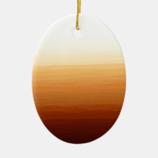 Tequila Sunrise Ceramic Oval Decoration