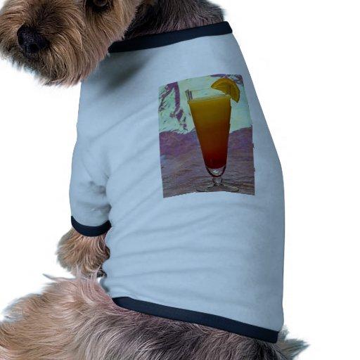 Tequila sunrise dog t-shirt