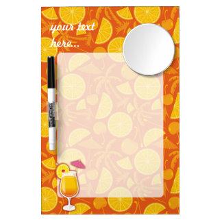 Tequila sunrise Dry-Erase board
