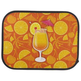 Tequila sunrise floor mat