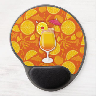 Tequila sunrise gel mouse pad