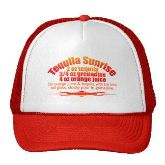 Tequila Sunrise hat - choose color