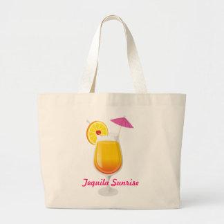 Tequila Sunrise Jumbo Tote Bag