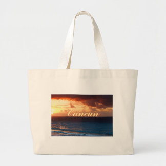 Tequila Sunrise Large Tote Bag