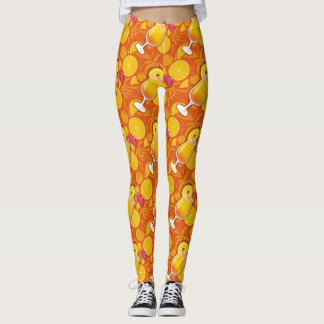 Tequila sunrise leggings