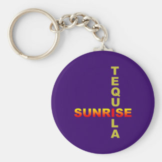 tequila sunrise longdrink cocktail key ring