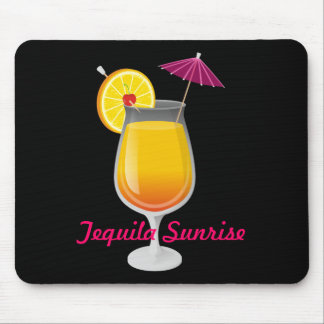 Tequila Sunrise Mouse Pad