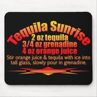 Tequila Sunrise mousepad