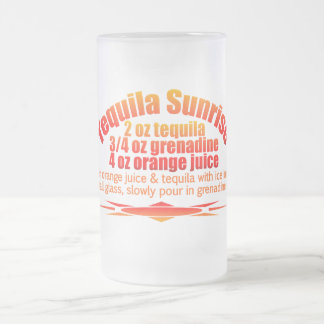 Tequila Sunrise mug - choose style & color