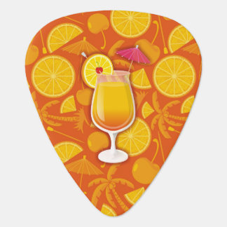 Tequila sunrise plectrum