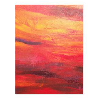 tequila sunrise postcard