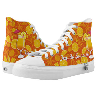Tequila Sunrise Printed Shoes