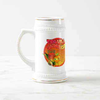 Tequila Sunrise recipe Beer Stein