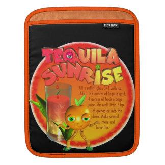 Tequila Sunrise recipe iPad Sleeves