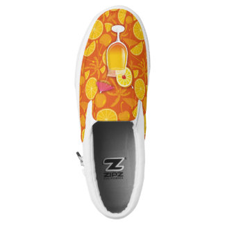 Tequila Sunrise Slip On Shoes