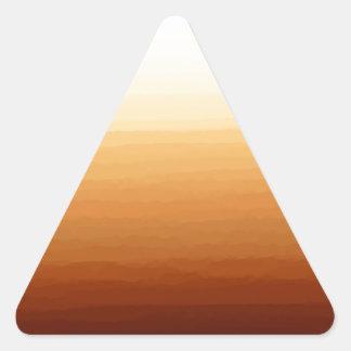 Tequila Sunrise Triangle Sticker