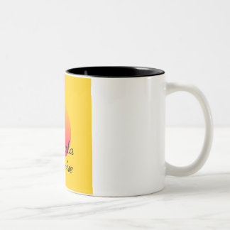 Tequila Sunrise Two-Tone Coffee Mug