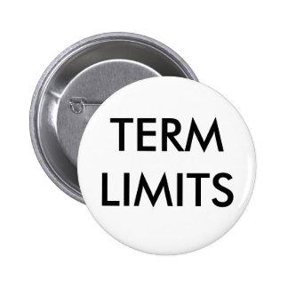 TERM LIMITS PINS
