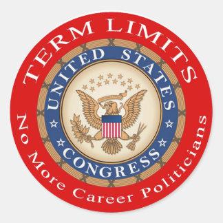 Term Limits stickers