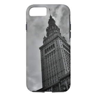 Terminal Tower in Black and White iPhone 8/7 Case