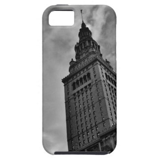 Terminal Tower in Black and White Tough iPhone 5 Case