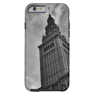 Terminal Tower in Black and White Tough iPhone 6 Case