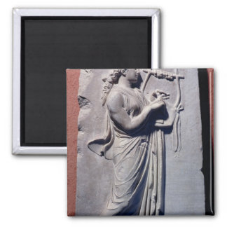Terpsichore, the muse of dancing and song square magnet