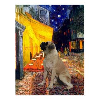 Terrace Cafe - Bull Mastiff #1 Postcard