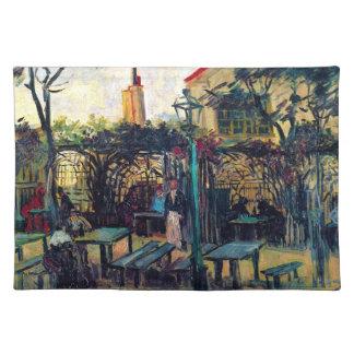 Terrace  Cafe on Montmartre Vincent Van Gogh Placemat
