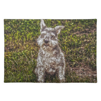 Terrier Schnauzer Pet Dog-lover's Dog Breed Placemat