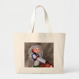 Tesla Large Tote Bag