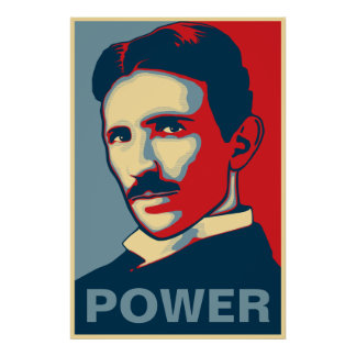 Tesla Power Poster