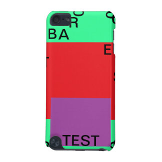 Test ipod touch 14+ template fields iPod touch (5th generation) cases