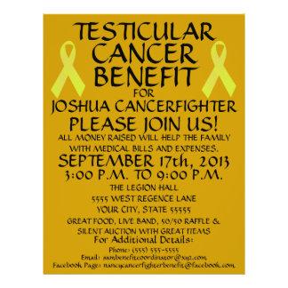 Testicular Cancer Benefit Flyer