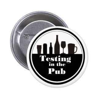 Testing In The Pub branded merchandise Badges
