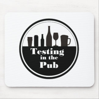 Testing In The Pub branded merchandise Mouse Pad