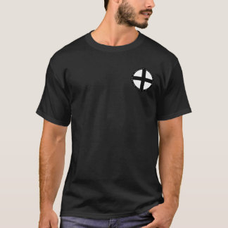 Teutonic Knights Black & White Round Seal Shirt