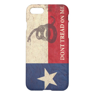 Texas and Gadsden Flag iPhone 8/7 Case