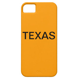 TEXAS BARELY THERE iPhone 5 CASE
