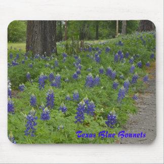 Texas Blue Bonnets - Mousepad