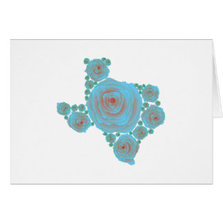 Texas Blue Rose Greeting Card