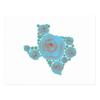 Texas Blue Rose Post Card