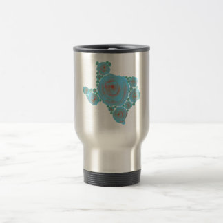 Texas Blue Rose Stainless Steel Travel Mug