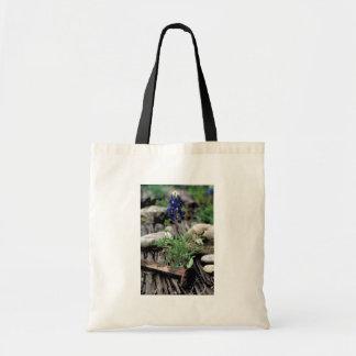 Texas Bluebonnet Canvas Bag
