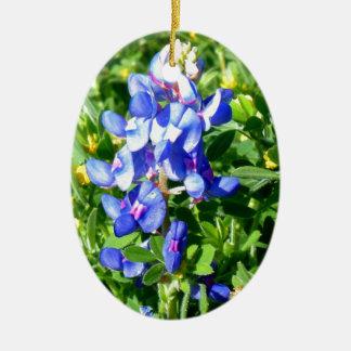 TEXAS BlueBonnet Christmas Tree Ornaments
