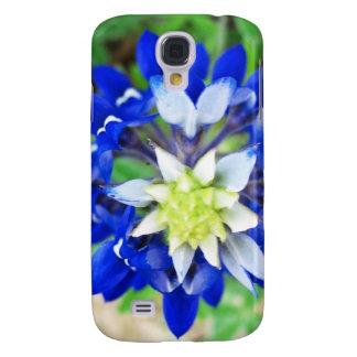 Texas Bluebonnet Top View Samsung Galaxy S4 Case