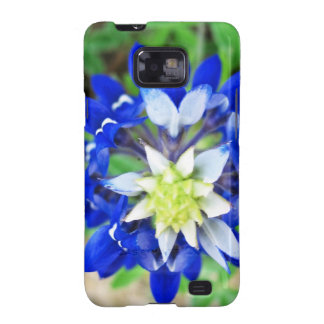 Texas Bluebonnet Top View Galaxy SII Cases