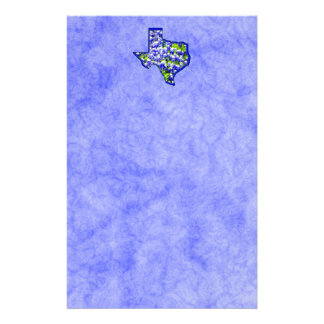 TEXAS BLUEBONNETS CUSTOMIZED STATIONERY