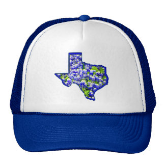 TEXAS BLUEBONNETS MESH HATS