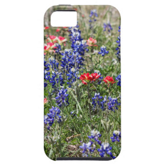 Texas Bluebonnets & Indian Paintbrush Wildflowers iPhone 5 Cover